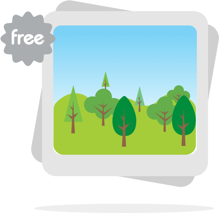 Royalty free images for. Hills clipart simple landscape