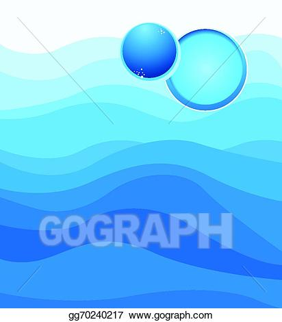 Hills clipart waterflow. Vector illustration background concept