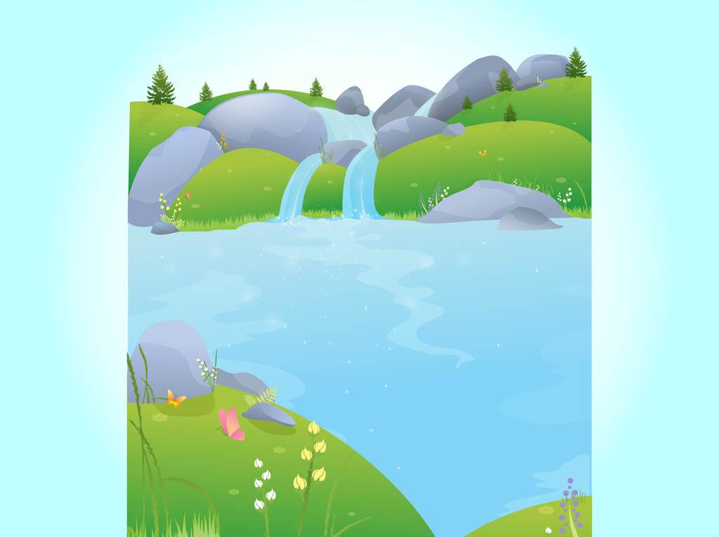 Free cliparts download clip. Nature clipart river