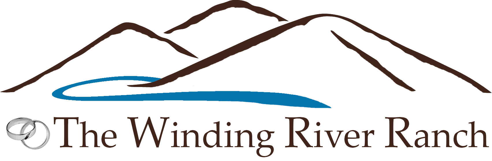 The ranch colorado s. Hills clipart winding river