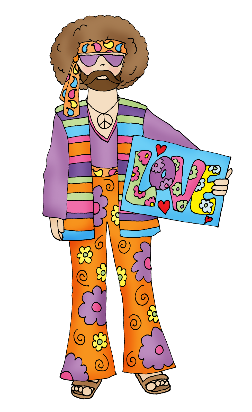 Free dearie dolls digi. Hippie clipart