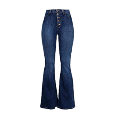 Embroidered bottom jeans transparent. Hippie clipart bell bottoms
