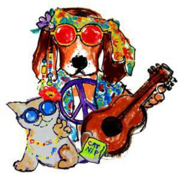 Hippie clipart dog. Free cliparts download clip