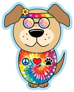 Free cliparts download clip. Hippie clipart dog