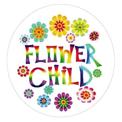 Hippie clipart flower child. Amazon com peace love