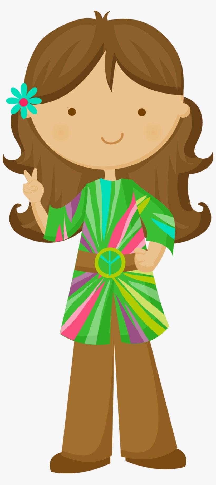 Hippie clipart flower child. Png transparent