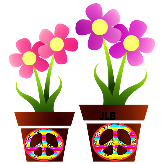 Pin by patricia alloza. Hippie clipart flower child