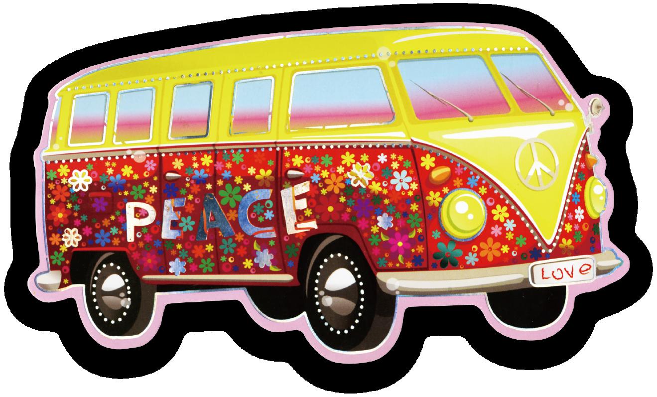Minivan clipart vintage van vw. Volkswagen type car hippie