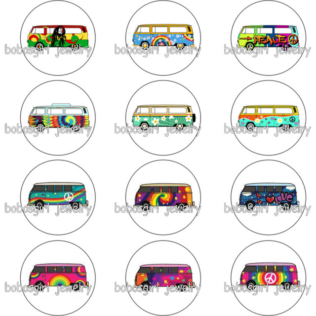 Hippie clipart hippie glass. Bus car snap button