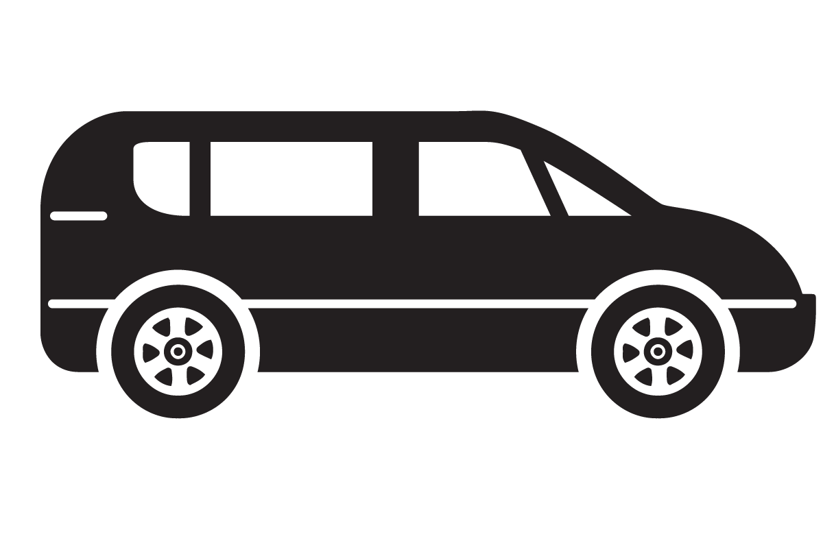 Simple wallpaper picture. Minivan clipart mini bus