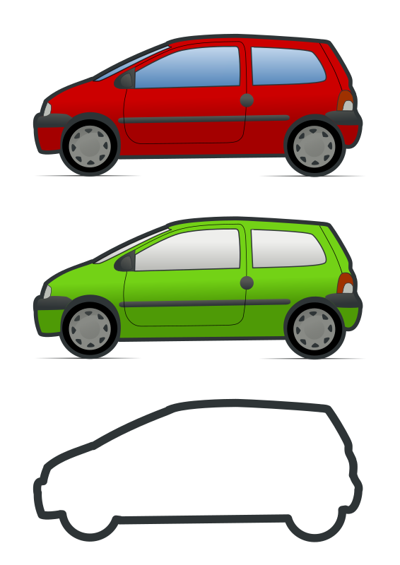 Minivan clipart svg. Silhouette at getdrawings com