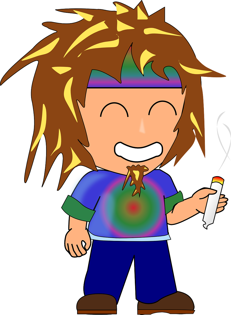 Hippie clipart nihilism. Woodstock character drugs transparent