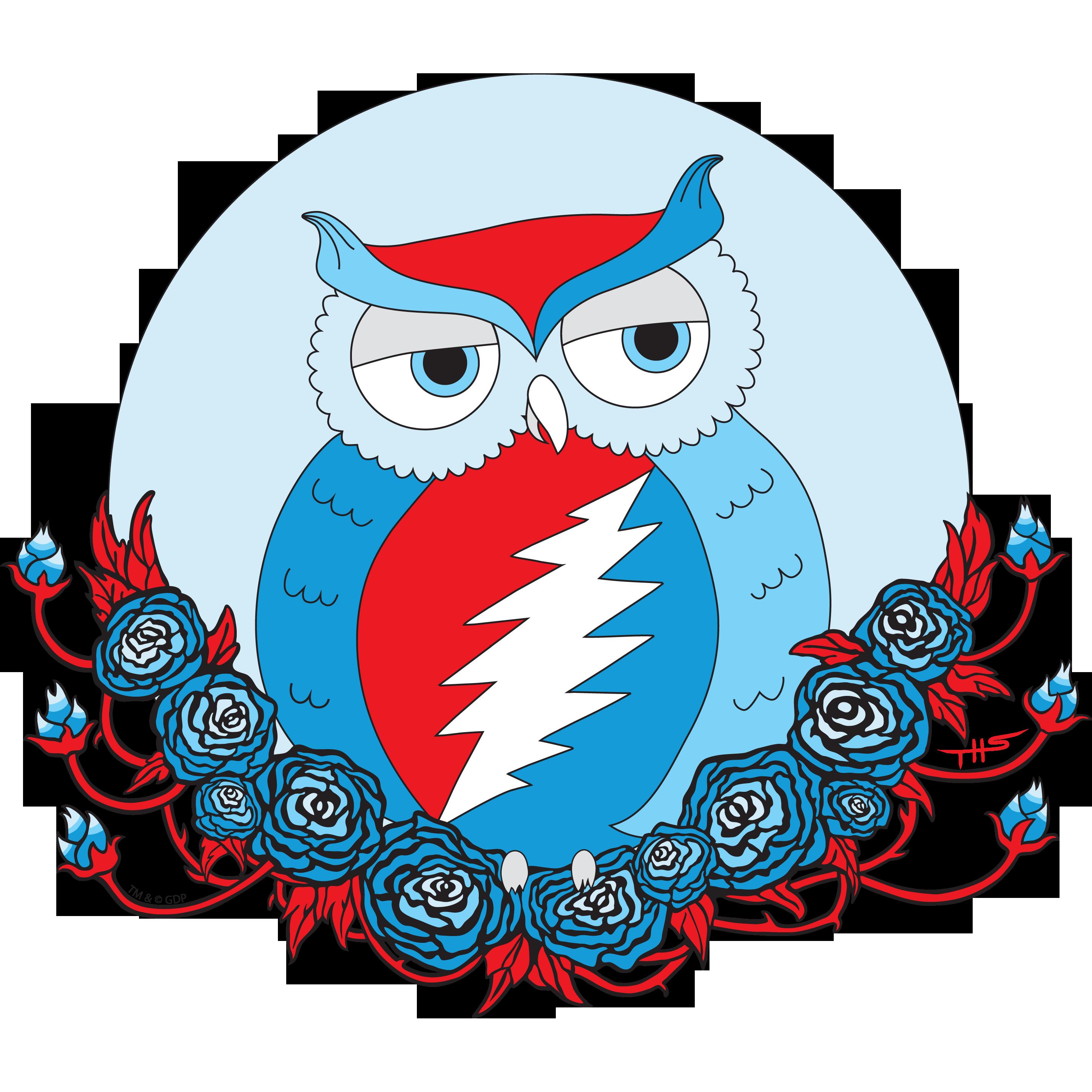 Little grateful . Hippie clipart owl