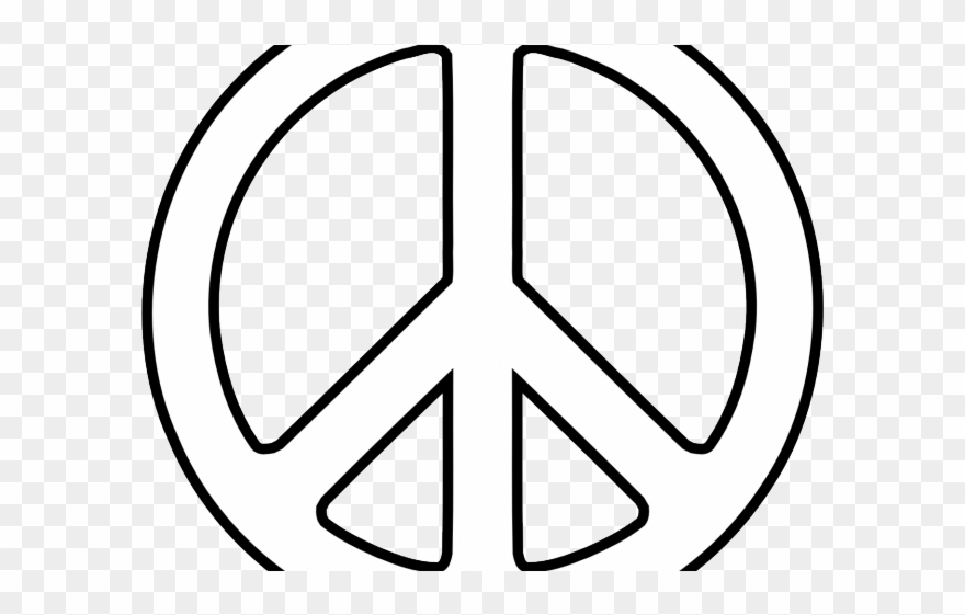Hippie clipart peace quiet. Sign martin luther king