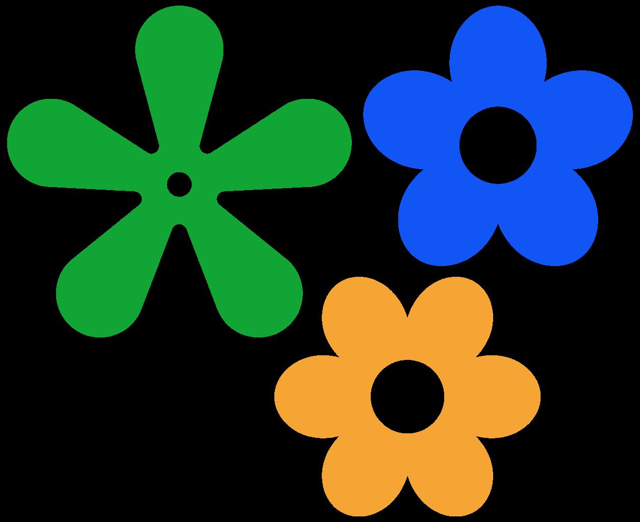 Hippie clipart svg. File retro flower icon