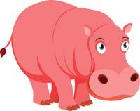 Hippopotamus clipart. Free hippo clip art