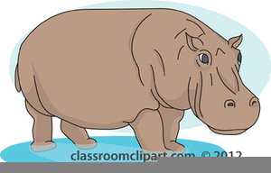 Free animated images at. Hippo clipart carton