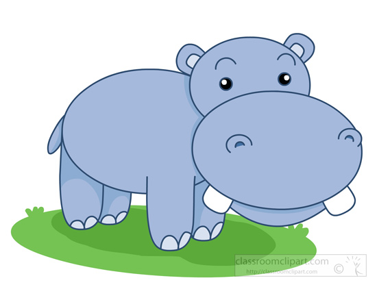 Hippo clipart clip art. Free pictures graphics illustrations