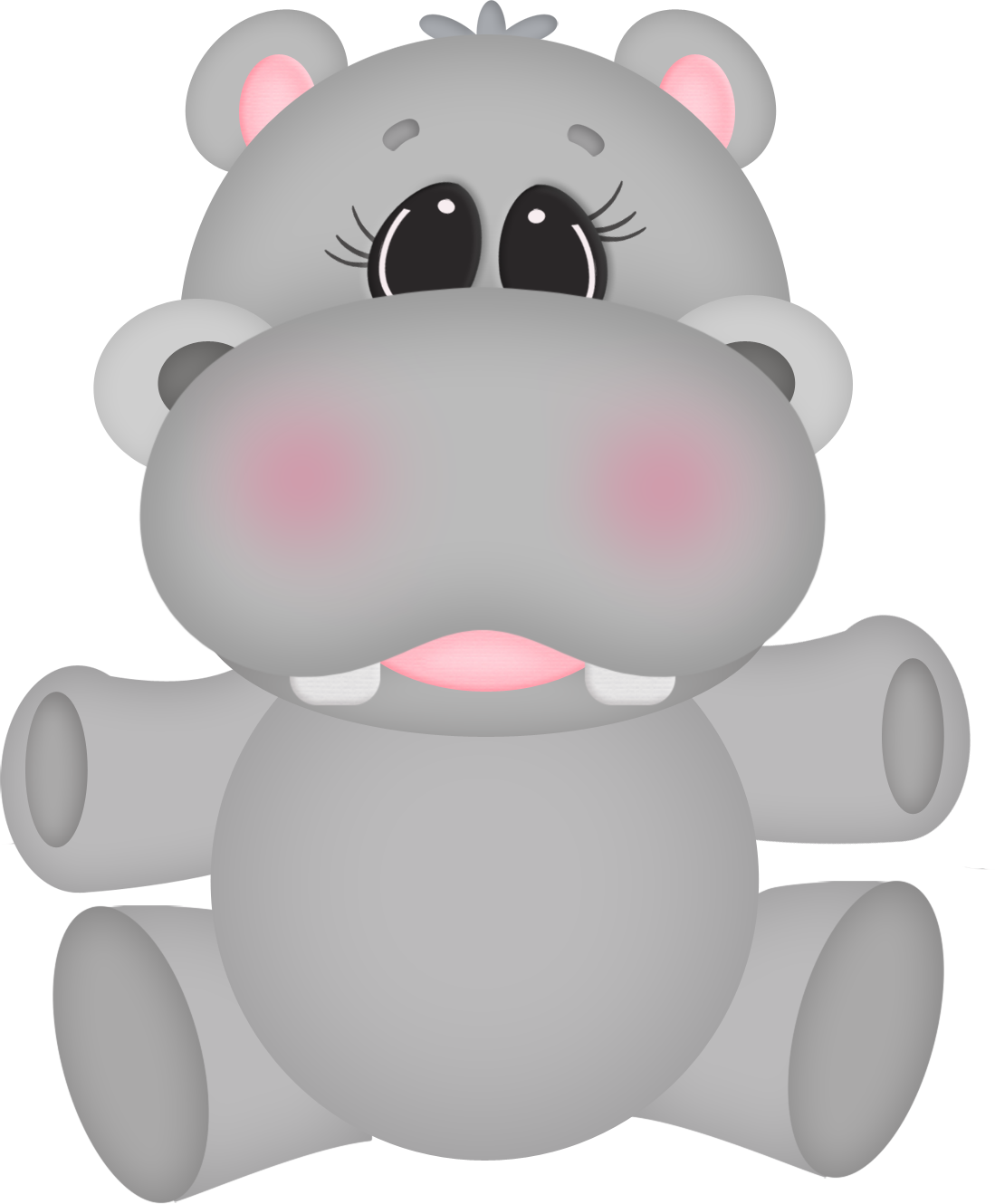 Hippo clipart drawn. Nose explore pictures art