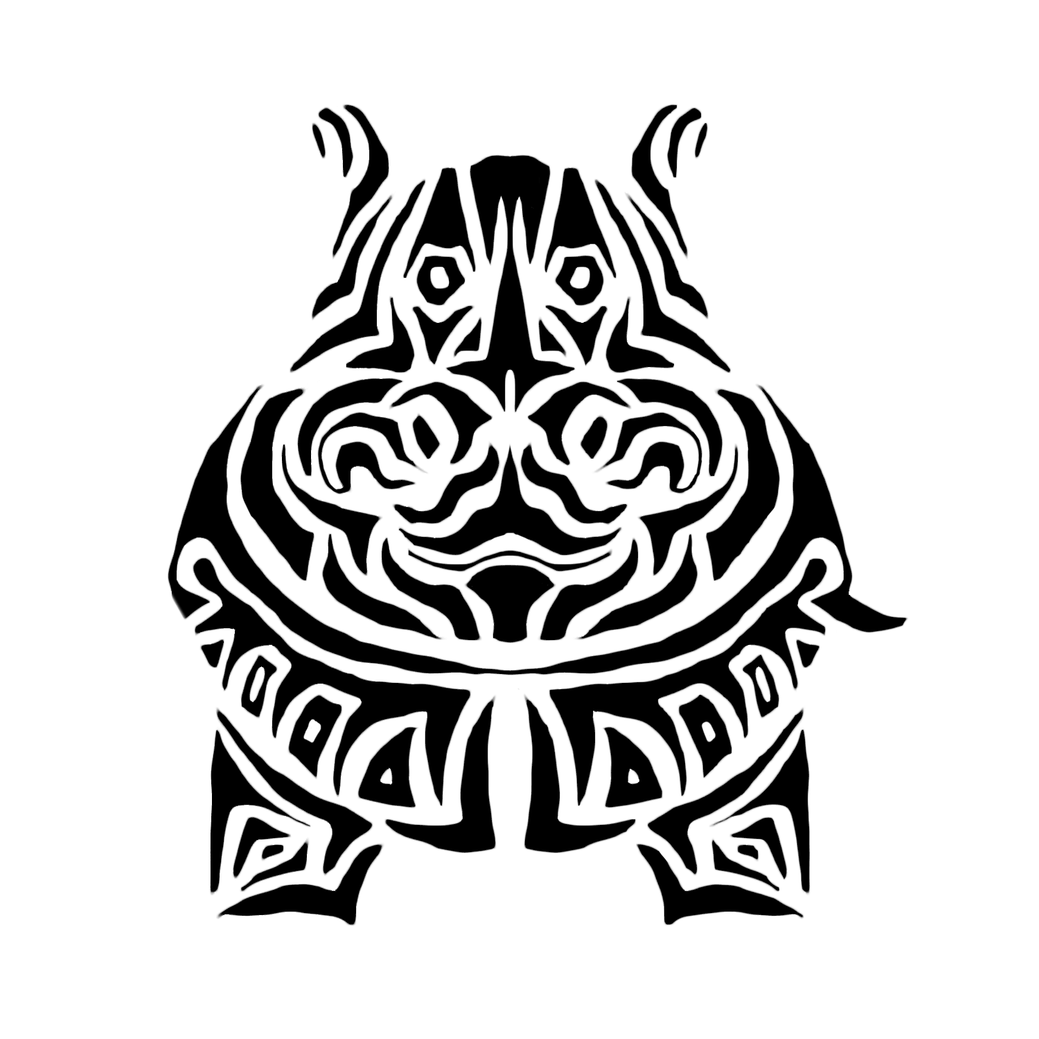 Hippo clipart drawn. This is our logo