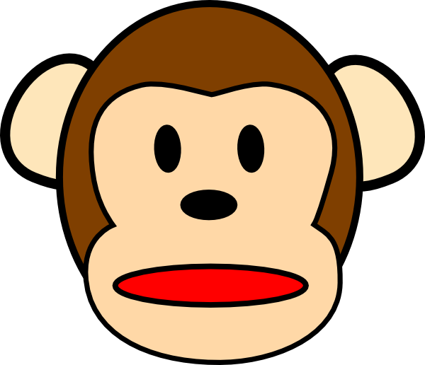 Hippo clipart face. Chimpanzee gallery by megan