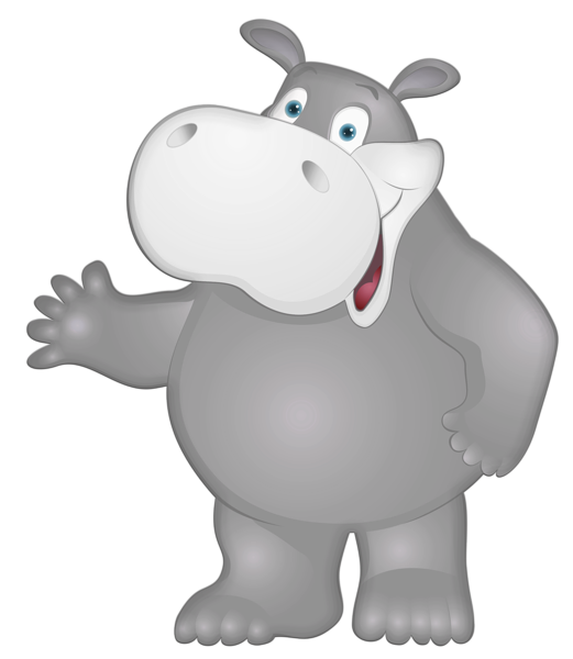 Hippo clipart grey. Gallery free pictures