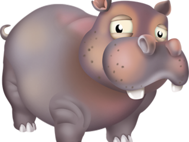 Hippo clipart grey. Animals in hay day