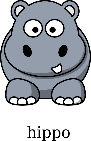 Hippo clipart kid. Baby cliparting com
