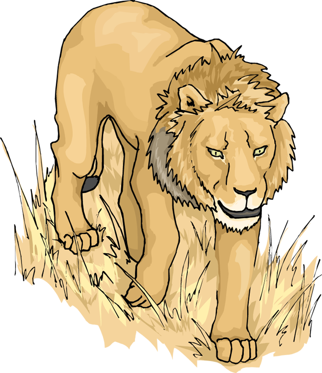 Free. Hippo clipart lion