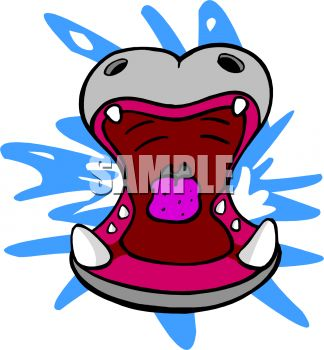 Portal . Hippo clipart mouth
