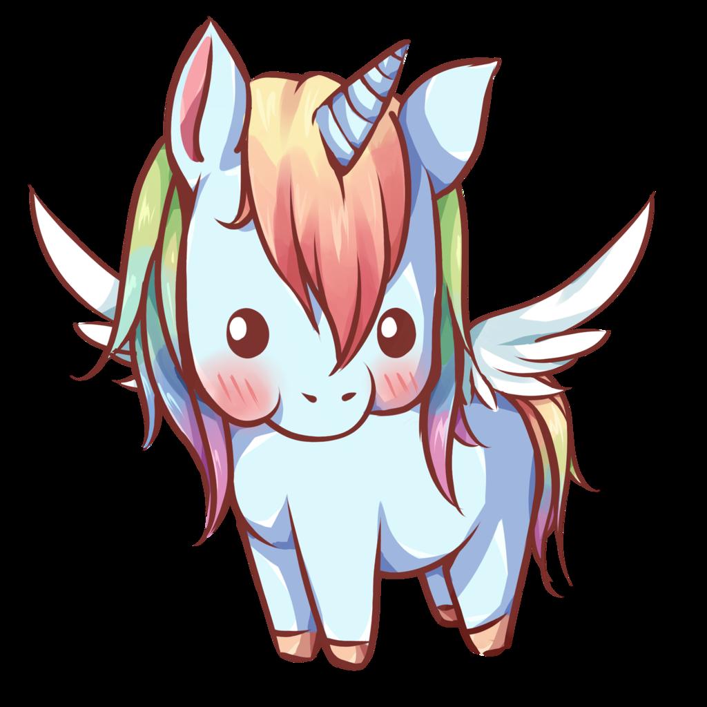 Pegasus by dessineka deviantart. Scale clipart kawaii