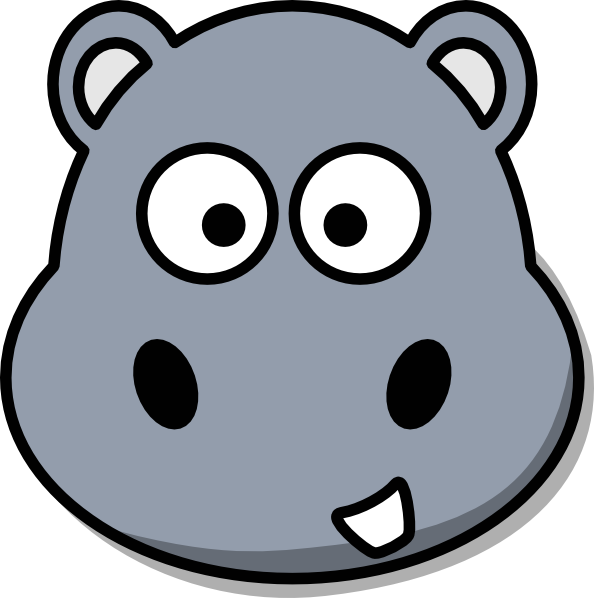 Hippo clipart svg. Pin by nadine on