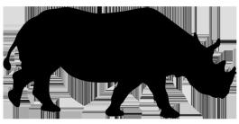 Otter clipart nutria. Animal silhouette clip art