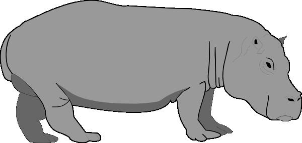 Hippopotamus panda free images. Hippo clipart realistic cartoon