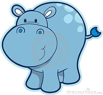 Hippo luv pinterest. Hippopotamus clipart