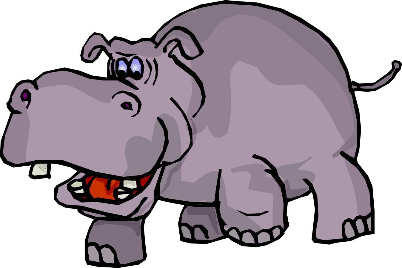 Free hippopotamus cliparts download. Hippo clipart clip art