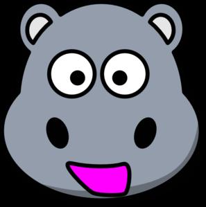 Clip art panda free. Hippopotamus clipart hippo head