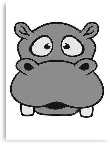 Hippopotamus clipart hippo head, Hippopotamus hippo head ...