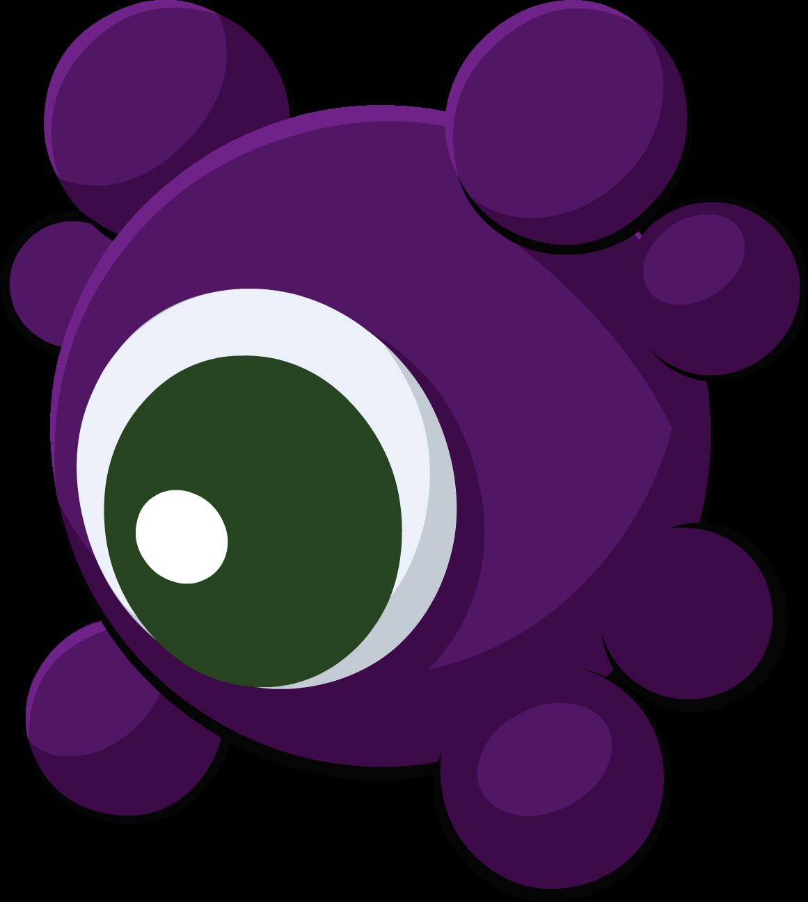 spooky clipart purple #143952492