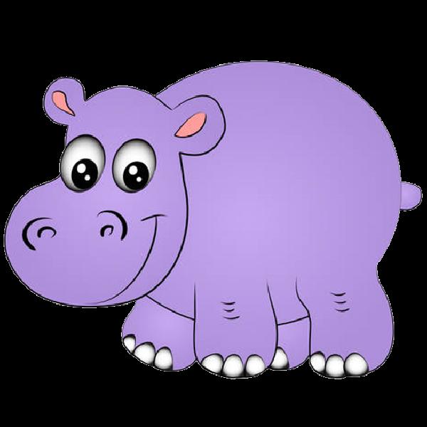 Hippopotamus clipart purple. Cartoon hippo png cricut