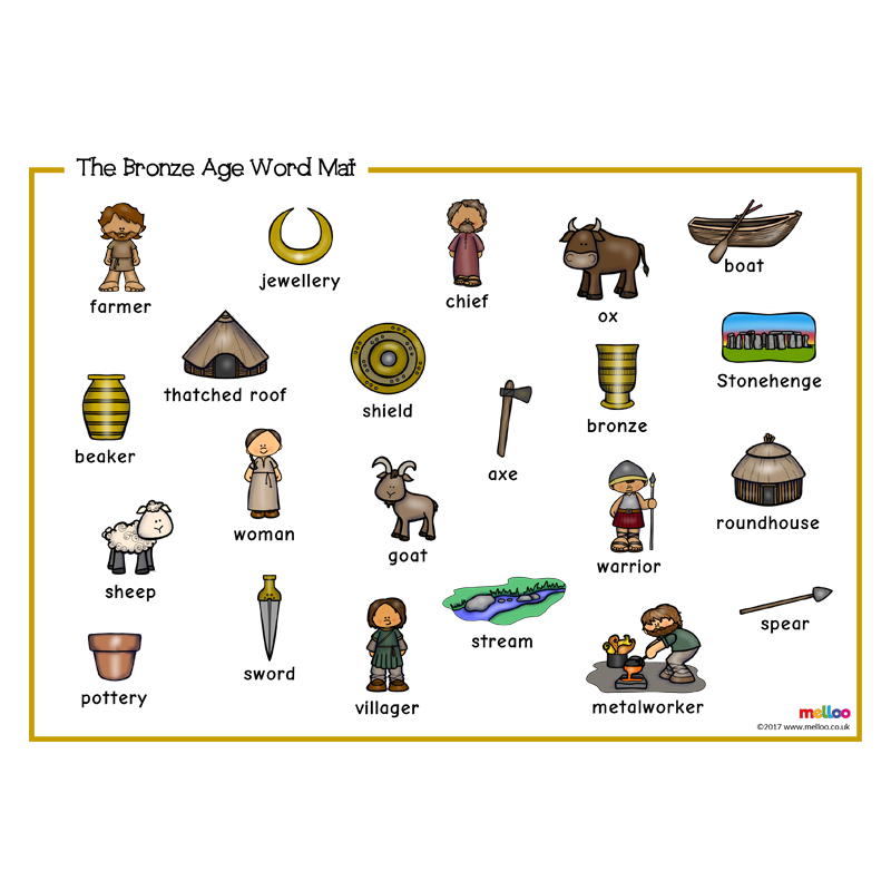 The word mat ks. History clipart bronze age
