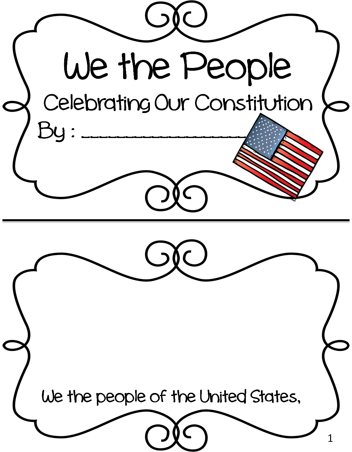 History clipart constitution day. First grade wow freedom