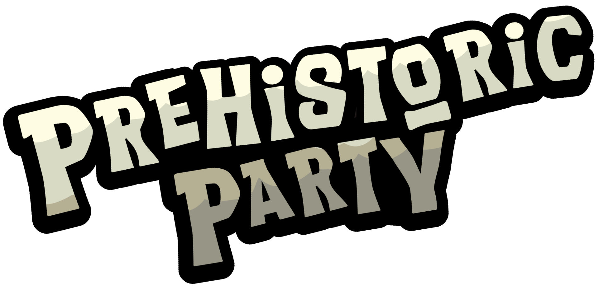 Prehistoric party club penguin. History clipart prehistory