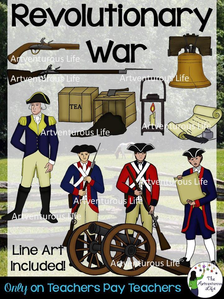 History clipart revolutionary. War clip art cool