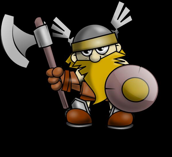 Clipartix . Warrior clipart viking person
