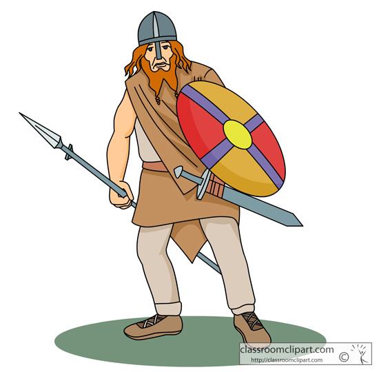 Free download clip art. Warrior clipart viking