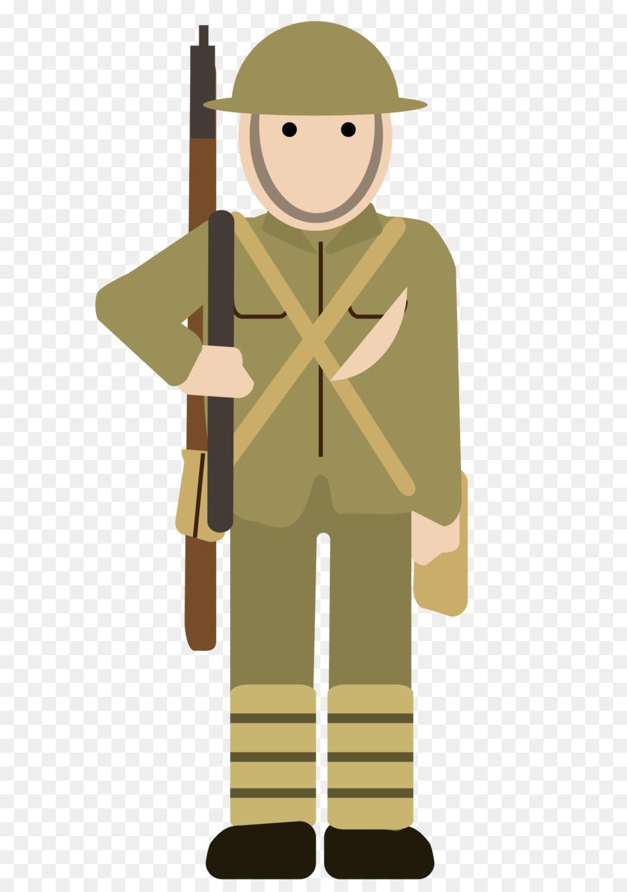 World cartoon war clothing. Military clipart soldier ww1