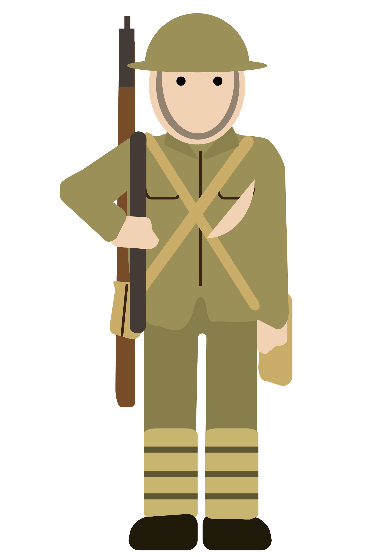 Soldiers clipart foji. History ww free on