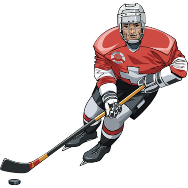 Player free images at. Hockey clipart