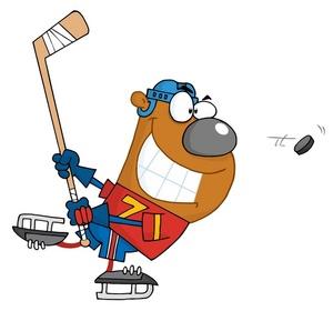 Image panda free images. Hockey clipart